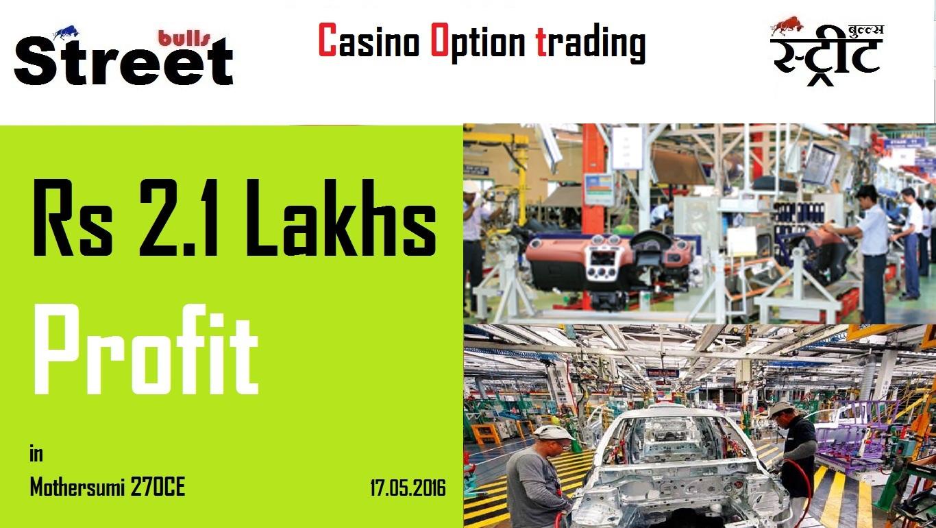Options trading gambling